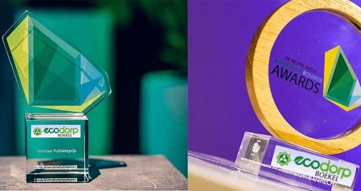 Twee prijzen voor Ecodorp Boekel